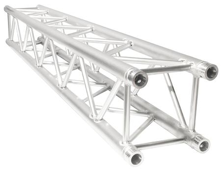 "Aluminum box truss 6.5 feet long (2 meters), with box size of 12"" x 12"" high quality, lightweight aluminum."
