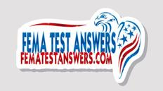 FEMA Test Answers Logo