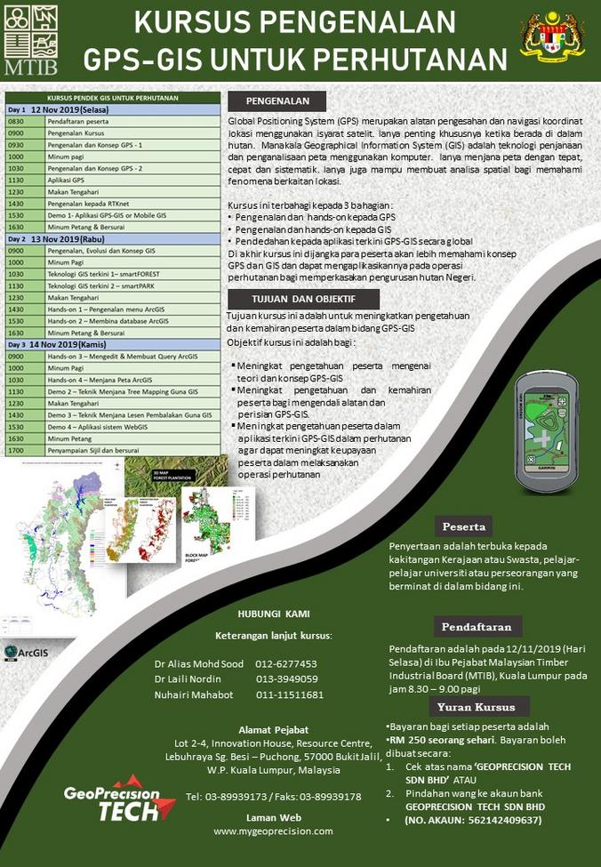 Geoprecision Tech Training Gis Forestry