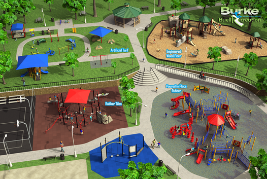 safety surfacing playgrounds oregon, safety surfacing playgrounds washington