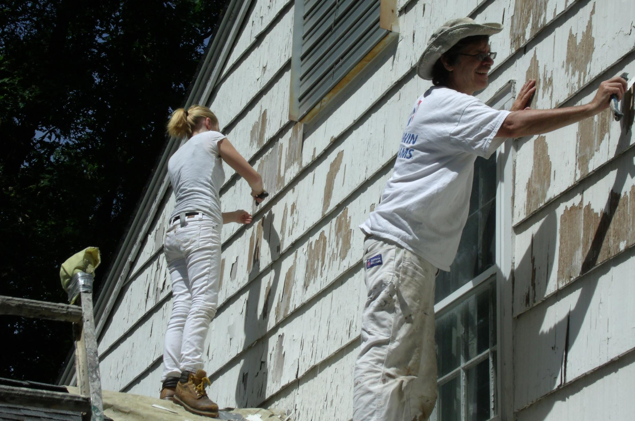 exterior house painting project in Seattle WA