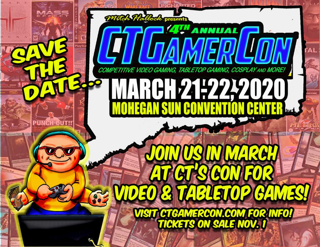 Ct Gamer Con - Connecticut's Game And Cosplay Con - Video