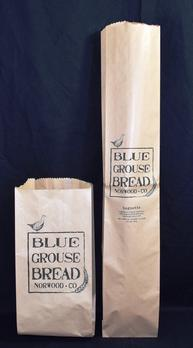 Paper bread bags