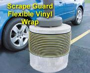 Scrape Guard Flexible Vinyl Wrap
