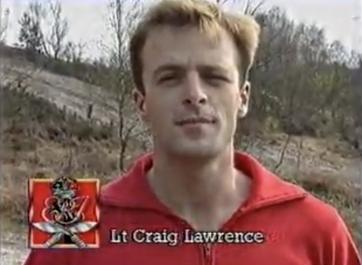 A young Craig Lawrence in Combat 89
