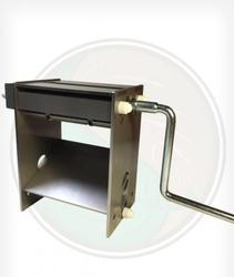 Tabletop Fine Cut Tobacco Shredder - Make your own fine cut tobacco for roll your own cigarettes with this fine cut tobacco shredder
