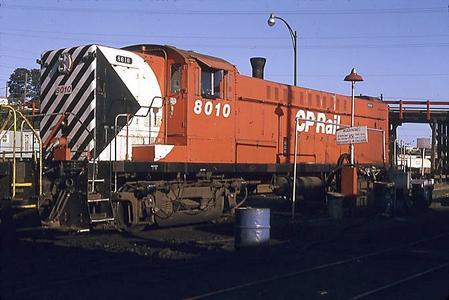 A Canadian Locomotive Company Baldwin DRS-4-4-1000 in Canadian Pacific Railway livery.