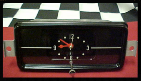 1957 Buick Clock Quartz Conversion
