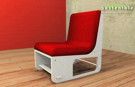 Mesa de centro Arquitectura Sostenible Revolucion