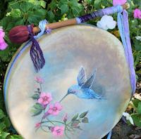 new painted Thunder Drum with customer comment