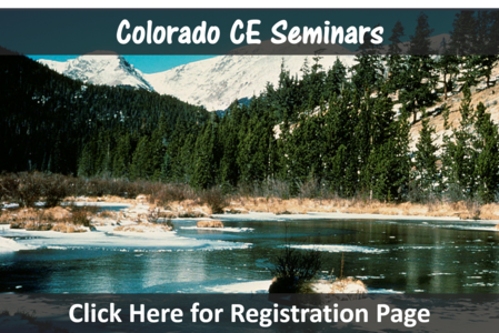 Colorado Springs Loveland Denver CO chiropractic seminars ce seminar chiropractor conitnuing education near hours