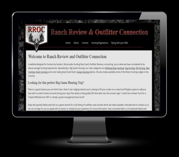 Ranch, Outfitter, and Manufacturer Marketing