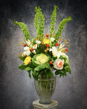 Tall, elegant and stunning arrangement