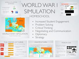 WWI Homeschool Simulation