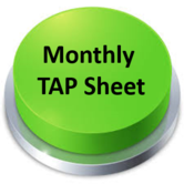 Monthly TAP sheet captures all expenses on a single form for Trucker Tax Service to process P&Ls