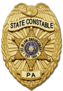 PA State Constable Badge