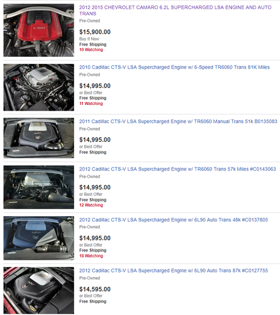 Custom Performance Engines Stroker Engine