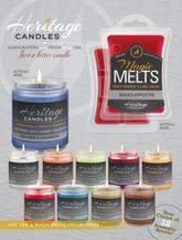 Heritage Candles $10 Fundraising Brochure