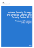 UK National Security Strategy and Strategic Defence and Security Review 2015