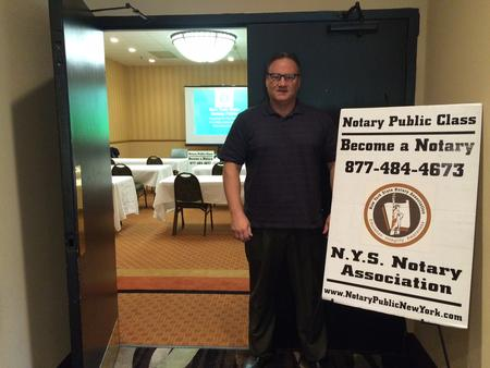 Fishkill, Dutchess County Notary License Instructor Mike Brown