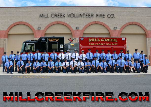 Mill Creek Volunteer Fire Company - Gun Raffle Tickets, Fire