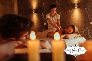 Couples Massage Therapy in Wake Forest, North Raleigh NC - Salon Serenity Spa