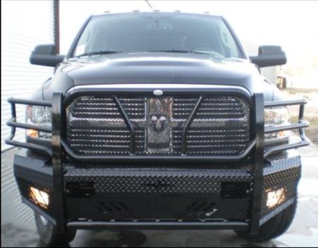 2010 2018 Dodge 2500 3500 Heavy Duty Front Replacement Bumpers