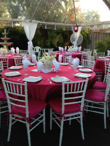 party rentals in miami a party 4 less