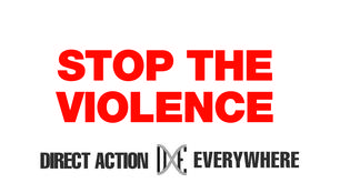 stop the violence DXE