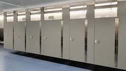 Bathroom partitions lockers virginia beach va for Bathroom partition hardware near me