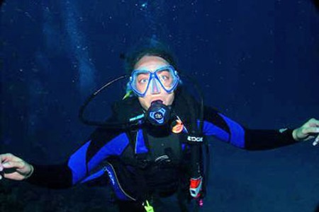 Scuba diver from Stoughton WI