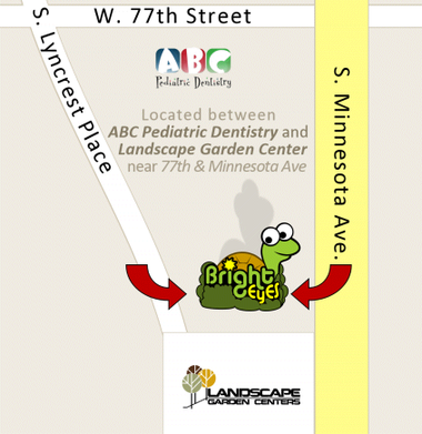 Map to Bright Eyes Daycare Sioux Falls - Infant through Pre-k