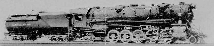 Baltimore and Ohio No. 6100.