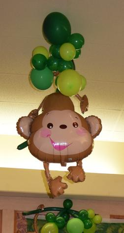 JUNGLE THEME BALLOONS