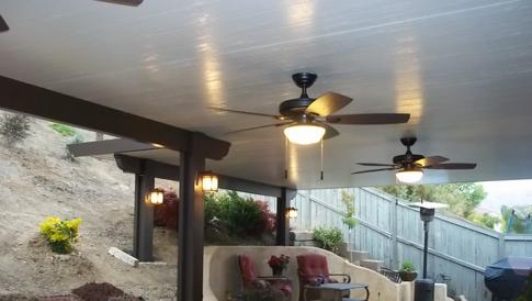Aluminum Patio Covers Seamless Rain Gutters Specials