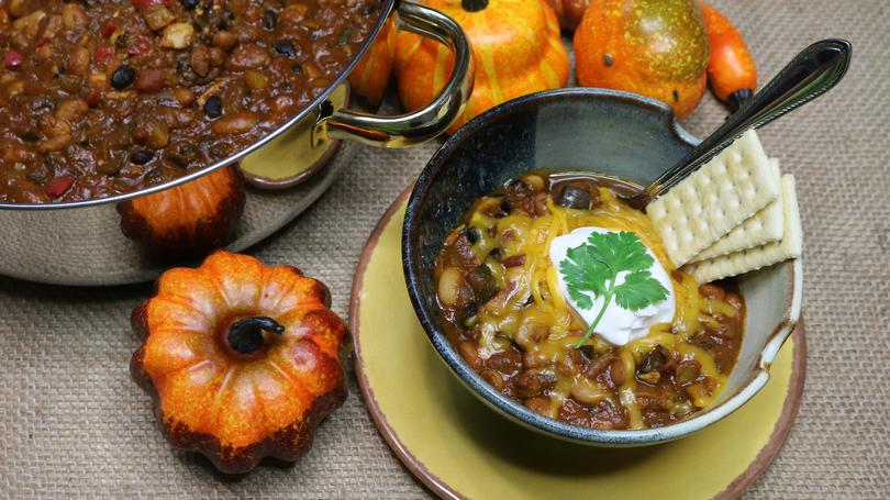 Noreen's Kitchen, Chicken and Pumpkin Chili