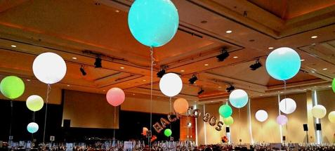 3 foot lighted balloons