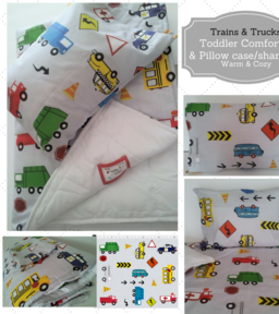 Toddler Comforter Sets in PatternPatchesShop on ETSY