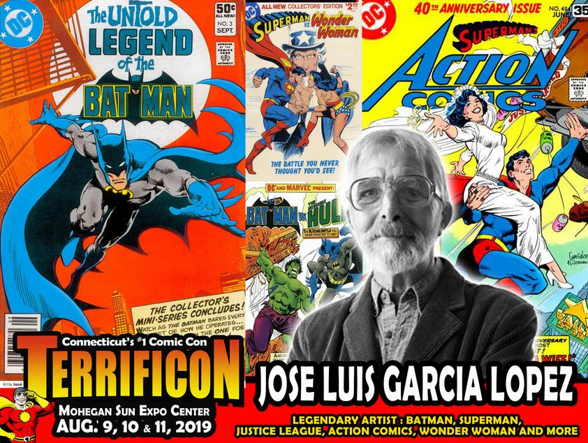 JOSE LUIS GARCIA LOPEZ CONNECTICUT COMICON