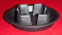 single plant saucer tray black plastic 3.25 inch pot 5.5 inch diameter small