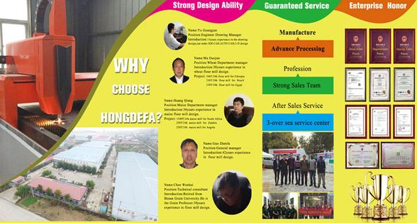 Hongdefa flour mill manufacture introduction