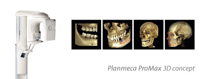 Planmeca ProMax 3D Clinique Implantologie Dentaire