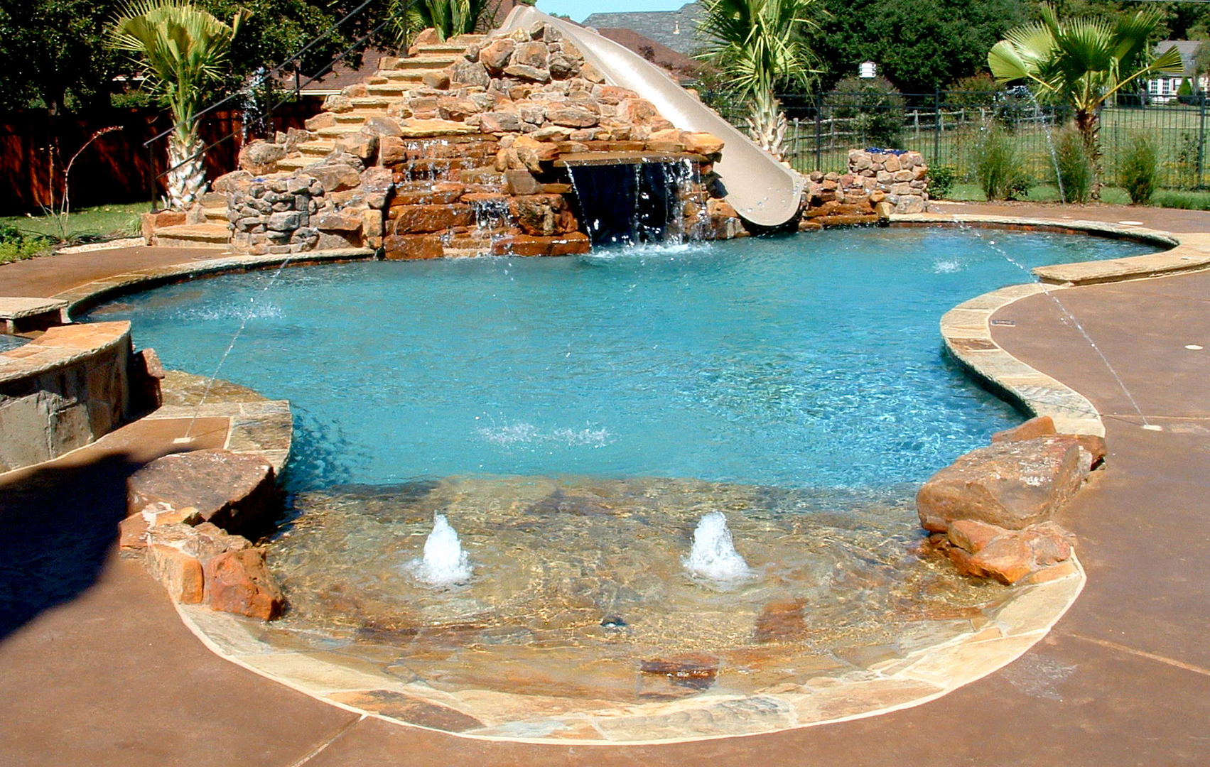 pool design and contruction