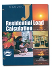 Manual J8 Residential Load Calculation