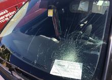 Auto glass repair or replacement necessary