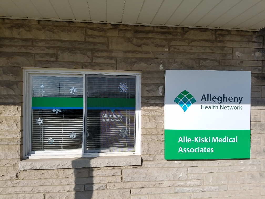 ADA and exterior signage - Allegheny Health Network
