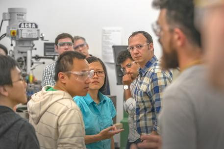 accelerator startups design engineering shop