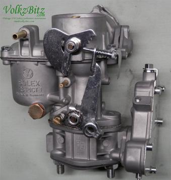 Restored Volkzbitz Volkswagen Solex Carburetors