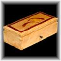 Birds eye maple jewelry box