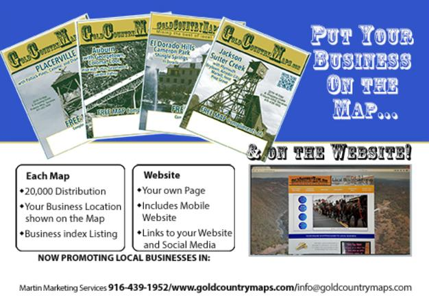 Advertiser Information for Gold Country Maps